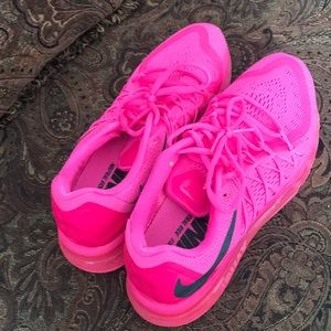 Nike Shoes - Nike Air Max pink sneakers 2015